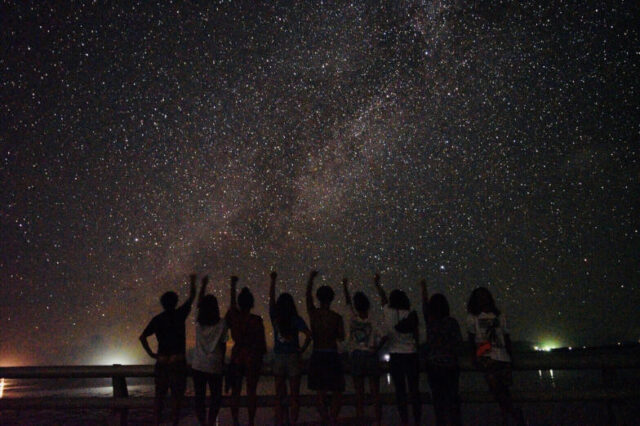 石垣島 ナイトツアー 星空 画像