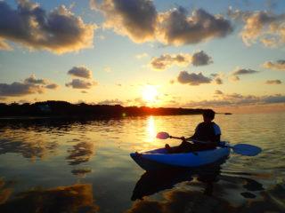 朝日と共に一日のスタート!サンライズカヌー