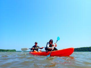 世界に誇る名勝「川平湾」を一望!のんびりカヌーツアー
