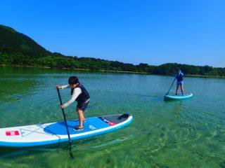 ミシュラン三ツ星!世界が認めた「川平湾」をクルージング!新感覚SUPツアー