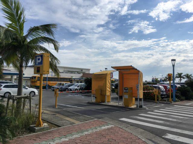 離島ターミナル第1駐車場の写真