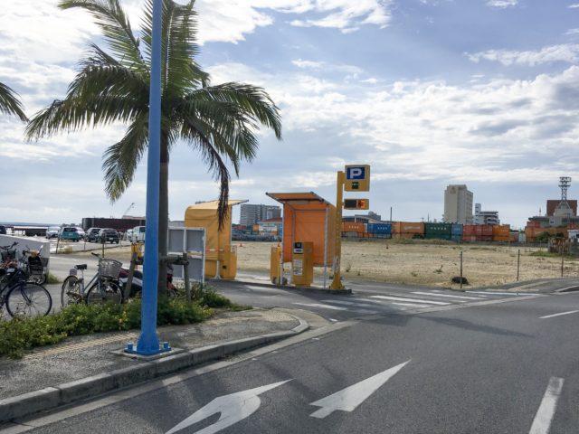 離島ターミナル第2駐車場の写真