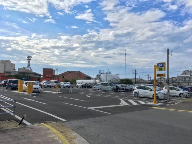 離島ターミナル第2臨時駐車場の写真