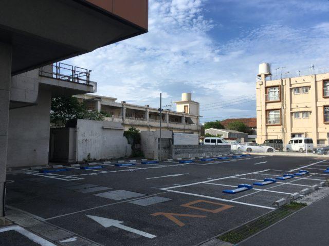琉球銀行指定駐車場の写真