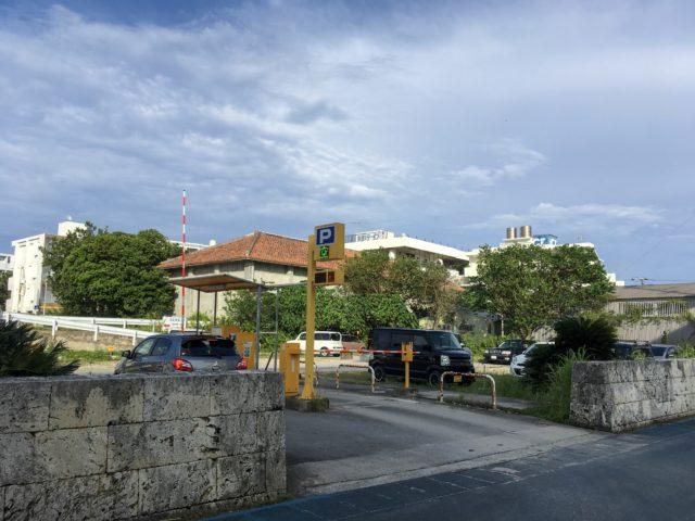 石垣市蔵元駐車場の写真