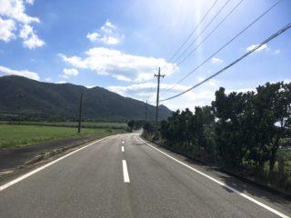 石垣島 国道390号線 写真