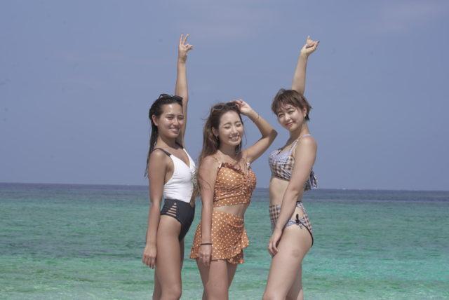 西表島 モデル撮影風景
